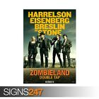 ZOMBIELAND 2 DOUBLE TAP HARRELSON (ZZ078) MOVIE POSTER Photo Poster Print Art
