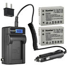 Kastar Battery LCD AC Charger for Canon NB-10L CB-2LC & Canon PowerShot SX50 HS