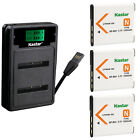 Kastar Battery LCD Dual Charger for Sony NP-BN1 BC-CSN Sony Cyber-shot DSC-TX7