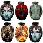 Naruto0 Hoodie Sweatshirt Uzumaki Pocket Coats Men DRAGON BALL Jacket Top $18.99 USD on eBay