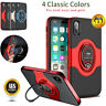 For iPhone 8 7 Plus X XS Shockproof Phone Case Cover with 360 Stand Ring Holder