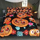 3D Pumpkin Monster Halloween Bedding Set Duvet Cover Comforter Cover PillowCase image