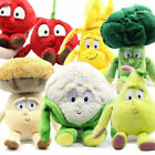2019 New Vegetable Fruit Baby Pillow Cushion Doll Soft Plush Stuffed Toys Gift