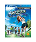 (NEW) HOT SHOTS GOLF WORLD INVITATIONAL - VITA Game Case Included FAST SHIPPING!