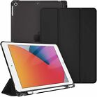 Kyпить For iPad 7th Generation 10.2 inch 2019 Slim Shell Case Translucent Back Cover на еВаy.соm