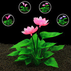 New 15cm Fish Tank Artificial Flower Lotus Plant Decoration Plastic Aquarium