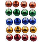 4x billiard ball ball 8 tire valve cap for bicycle blue L3G2 $2.47 USD on eBay