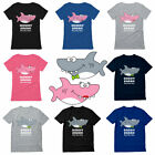 Mommy Shark Daddy Shark Doo Doo Family Matching Set T-Shirt Cute Gift