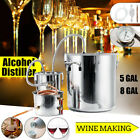 3POT 5/8Gal Moonshine Stainless Water Wine Alcohol Equipment Copper DIY Brew Kit
