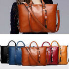 Luxurious Women Leather Bags Messenger bags Tote Handbags Shoulder Satchel Purse image