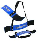 "ISLERO Weightlifting Arm Blaster Biceps Isolator Gym Support Strap Bodybuilder W <br/> DEAL 18"" Weightlifting Wrist Wraps RRP £7 Included FREE"