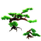 Artificial Fake Green Bonsai Plant Guest Greeting Pine Tree Office Decor USA