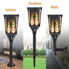 1-20 Pack Waterproof Solar Tiki Torch Light Flickering Flame Table / Wall Lamp