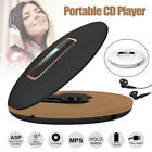 Portable CD HIFI Player Anti-Skip Shockproof Personal CD Player Headphone Jack