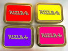RIZLA Tobacco Tin SMOKERS Vape Smoke Weed Pill Metal Cigarette Smoking Baccy Box