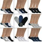 Men Cotton Low Cut Loafer Socks No Show Hidden Boat Breathable Socks GDY7 03