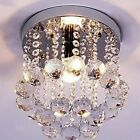 Vintage Crystal Chandelier Ceiling Lamp Pendent Light Glass Beads Candle WY
