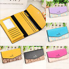 Fashion Women Clutch Wallet Leather Long Pocket Trifold Card Holder Purse NEW image
