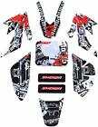 Stickers Decals Graphics Kit for Honda CRF50 Dirt Pit bike Motorcycle Body DIY image