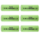 Kastar 2/3AAA 1.2V Rechargeable Battery Replace for Solar Lights, Solar Flowers