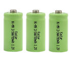 Kastar 2/3 AA 1.2V Button Top Ni-MH Rechargeable Battery for Solar Decorations