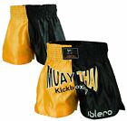 ISLERO Cage Fight Muay Thai Shorts MMA Kick Boxing Grappling Martial Arts Gear