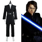 Star Wars Cosplay Dark Jedi Sith Darth Vader Suit Costume Outfit Black Adult $49.99 USD on eBay
