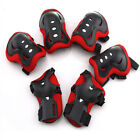 6 Pieces Kids Outdoor Sports Protective Gear Knee Pads Elbow Pads Wrist Guards image