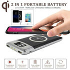 20000mAh Power Bank Battery Qi Wireless Charger For Samsung S10 iPhone 11Pro Max