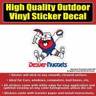 Retro Old School Denver Nuggets Miner Vinyl Car Window Laptop Bumper Sticker Dec on eBay