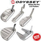 ODYSSEY GOLF PUTTER ODYSSEY WHITE HOT PRO 2.0 PUTTERS NEW MENS RH ALL MODELS