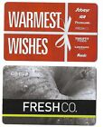2 Collectible store SOBEYS FRESHCO SAFEWAY IGA FOODLAND NEEDS Canada gift cards