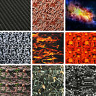 Hydrographic Carbon Fiber Water Transfer Hydro Dipping DIP Print Film Sticker