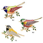 Fashion Enamel Pins Bird Branch Brooches for Unisex Charms Animal Oriole Brooch image