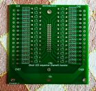 Ghozt LED sequencer channel's booster bare PCB, DIY PCB, Soldered PCB