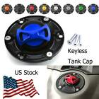 8 Colors Aluminum Keyless Motorcycle Tank Cap For Triumph Sprint 1050 2005-2019 $27.49 USD on eBay