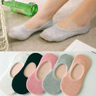 Women Cotton Loafer Boat Nonslip Invisible Low Cut Socks Ankle Sock Solid Color