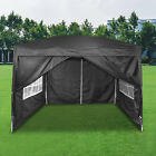 Gazebo Marquee Canopy Pop-up Waterproof Garden Wedding Party Tent w/Sides 3Mx3M