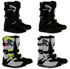 Alpinestars Tech T Boots Trials White/Red/Yellow/Black SHIPS FREE