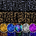 96-1000 LEDs christmas Wedding Indoor Outdoor Icicle Curtain Lights String Light