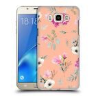 OFFICIAL ANIS ILLUSTRATION FLOWER PATTERN 2 BACK CASE FOR SAMSUNG PHONES 3