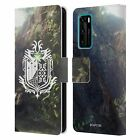 MONSTER HUNTER WORLD LOGOS LEATHER BOOK WALLET CASE COVER FOR HUAWEI PHONES