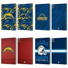 NFL 2018/19 LOS ANGELES CHARGERS LEATHER BOOK WALLET CASE COVER FOR APPLE iPAD $32.95 USD on eBay