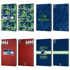 OFFICIAL NFL 2018/19 SEATTLE SEAHAWKS LEATHER BOOK CASE FOR APPLE iPAD $15.95 USD on eBay