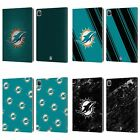 OFFICIAL NFL 2017/18 MIAMI DOLPHINS LEATHER BOOK CASE FOR APPLE iPAD $25.95 USD on eBay