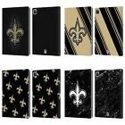 OFFICIAL NFL 2017/18 NEW ORLEANS SAINTS LEATHER BOOK CASE FOR APPLE iPAD $23.95 USD on eBay