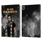 OFFICIAL WWE ELIAS SAMSON LEATHER BOOK CASE FOR APPLE iPAD