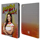 OFFICIAL WWE RONDA ROUSEY LEATHER BOOK CASE FOR APPLE iPAD