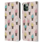 OFFICIAL ANDREA LAUREN DESIGN FOOD PATTERN LEATHER BOOK CASE FOR APPLE iPHONE