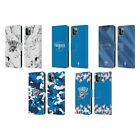 NBA 2018/19 OKLAHOMA CITY THUNDER LEATHER BOOK WALLET CASE FOR APPLE iPHONE on eBay